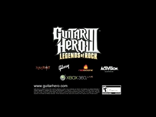 Jeux Video – Guitar Hero III – Legends of Rock