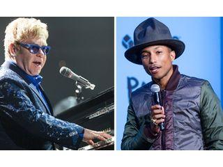Elton John rêve de travailler avec Pharrell Williams et Kanye West