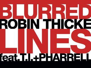 """Un nouveau record pour """"Blurred Lines"""" de Robin Thicke"""