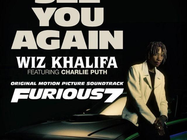 """""""See You Again"""", de Wiz Khalifa, trône dans les charts britanniques"""