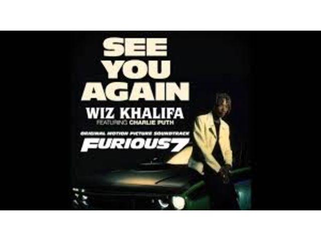 """Top US: """"See You Again"""", de Wiz Khalifa, résiste bien"""