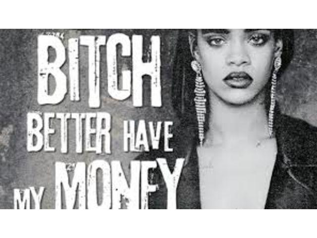 """Rihanna joue la mystérieuse dans le clip de """"Bitch Better Have My Money"""""""