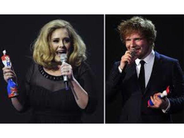 Quand Ed Sheeran fait de la pub à Adele