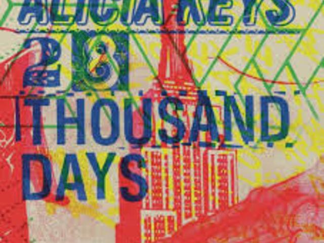 """Alicia Keys, très urbaine dans """"28 Thousand Days"""""""