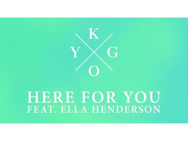 """Kygo remet ça avec """"Here For You"""""""