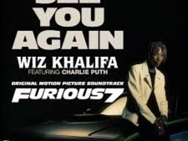 """Nouveau record pour """"See You Again"""", de Wiz Khalifa et Charlie Puth"""