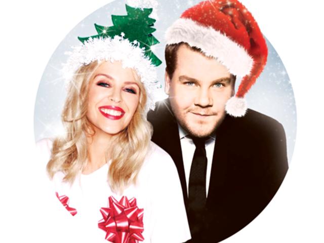 """Kylie Minogue et James Corden en duo sur """"Only You"""""""