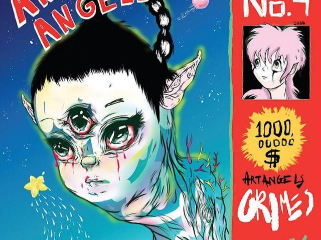 """La pop fantasque de Grimes en état de grâce dans """"Art Angels"""""""